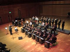 Ian Swatman conducting the University of Kent Big Band in Colyer-Fergusson Hall, March University Of Kent, March, Big, Music, Musica, Musik, Music Games, Music Activities, Muziek