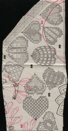 Crochet Diagram, Crochet Chart, Love Crochet, Filet Crochet, Crochet Motif, Irish Crochet, Crochet Doilies, Crochet Shoes Pattern, Crochet Stitches Patterns