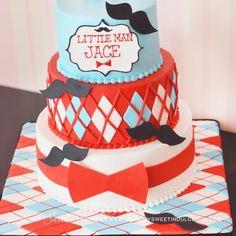 little man birthday cake ideas - Google Search
