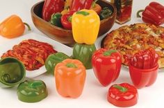 12 Of Finest By Hutzler Pepper Saver