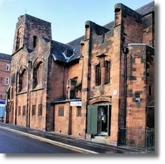 Queen's Cross Church at 870 Garscube Road in Glasgow was commissioned in 1896 by the Free Church of Scotland as St Matthew's Church. It was designed by Charles Rennie Mackintosh, who was at that time working as an employee of Honeyman & Keppie. It opened for worship on 10 September 1899.