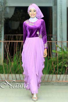 Menyeleksi model baju pesta muslim modern memang sangat menyusahkan c080dea313