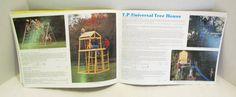 "English Garden Toys ""2-Net(?) Scrambler"", ""Climbing Cabin"" and ""T.P. Universal Tree House"""