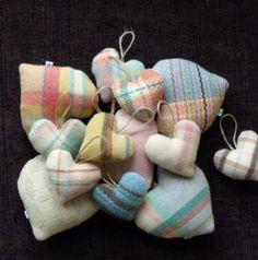 Cute blanket hearts