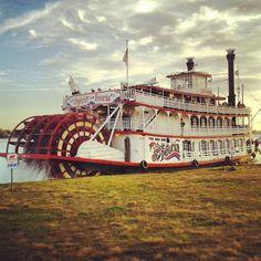 Take a relaxing river cruise all around Alton. www.VisitAlton.com/Cruise
