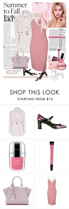 """""""Summer to Fall Lady Chic Layering"""" by ellie366 ❤ liked on Polyvore featuring Inez & Vinoodh, Reiss, Dolce&Gabbana, RMK, Victoria's Secret, Fendi, Topshop, MDS Stripes, maryjanes and layers"""