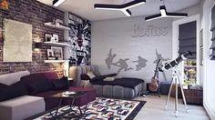 комната для мальчика подростка дизайн: 19 тыс изображений найдено в Яндекс.Картинках