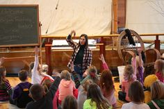 Adirondack Museum   Balsam Traditions program, where local school kids learn all about the different types of conifers in the ADKs, and the different uses for balsam throughout history!