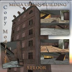 Urban Mega Sim Structure 199 impact copy modify