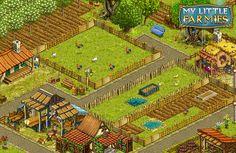 Erschaffe mit My Little Farmies dein eigenes Dorf und erlebe in diesem Aufbauspiel das Dorfleben hautnah mit! Spiele jetzt kostenlos mit auf de.upjers.com