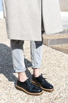 BRONX brogues by Lynn Henderiks & CONNECTED TO FASHION