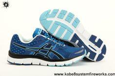 Buy Discount Asics Gel Quik 33 Womens Duke Blue Black White Sports Shoes Store