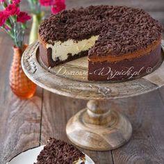 Sernik królewski Desserts Thermomix, Cheesecakes, Tiramisu, Sweets, Ethnic Recipes, Drinks, Food, Bakken, Food Food