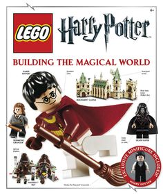 'LEGO Harry Potter Building the Magical World' by DK Publishing ---- The magic of Harry Potter and the fun of the LEGO world, now in one incredible book! Since it was first introduced in LEGO Harry. Lego Harry Potter, Harry Potter Magic, Harry Potter Love, Harry Potter Universal, Lego Books, Children's Books, Reading Books, Dk Publishing, Visual Dictionary