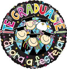 """Contamos con #Variedad de #Globos de #Graduacion en medidas 9"""", 14"""", 18"""" y 36""""!!!"""