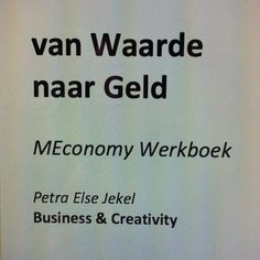 #MEconomy werkboek van Business & Creativity