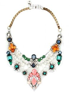 bohemian clothing and accessories | ... Necklace - Bohemian Clothing and Accessories - Harpers BAZAAR