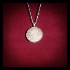 Mysticism Talisman ElderScrolls Oblivion Mages Guild Amulet Hand Engraved Glass Stone Pendant