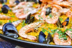 Learn to make Spanish Paella for your next group event! #cookingclasses https://www.cozymeal.com/san-francisco/cooking-classes/group