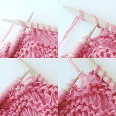 12 vändbara stickmönster (strukturmönster) till halsdukar, sjalar, filtar ... Knitting Stitches, Knitting Patterns, Monster, Threading, Knit Patterns, Knitting Stitch Patterns, Loom Knitting Stitches, Loom Knitting Patterns, Knit Stitches