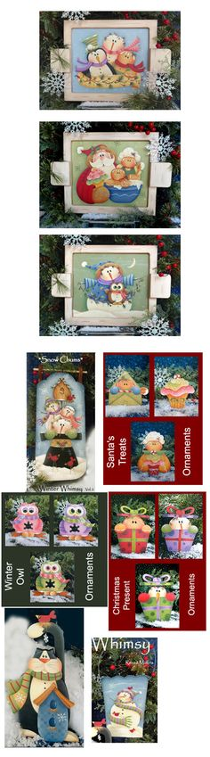 Winter Whimsy Vol #2--a brand new book by Renee Mullins.  Already ordered the set with the book and all the surfaces.  Can't wait to paint!