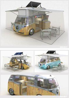Verdier Solar Power VW Van
