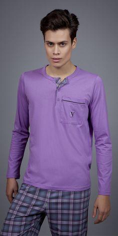 Men's Pyjamas S. Men's Fashion, Fashion Outfits, Pyjamas, Nightwear, Luxury, Long Sleeve, Clothing, Sleeves, Mens Tops