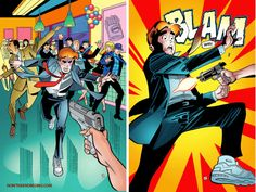 The Archie comic has become an organ of the LGBT Mafia and Liberal Left, pushing it's agenda of gay marriage, global warming and gun control. Archie will give his life and take a bullet for for gay friend, US Senator Kevin Keller. #LifeWithArchie #LGBT http://www.nowtheendbegins.com/blog/?p=23415