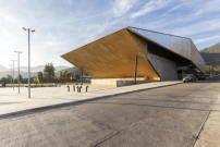 Sporthalle in Chile von Carreño Sartori Arquitectos / Ein Vordach als Argument - Architektur und Architekten - News / Meldungen / Nachrichten - BauNetz.de