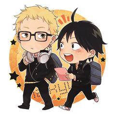 Haikyuu!! // Tsukishima & Yamaguchi