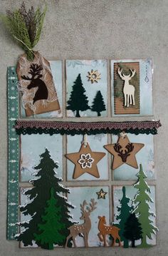 PocketLetter - Oh Deer! - Blue Barn Creatief