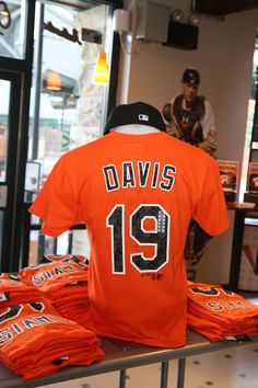 6b4ac7863a2 Chris Davis Repeat Name   Number tee by Majestic. Chris Davis