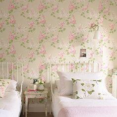 Buy Sanderson Lilacs Wallpaper Online at johnlewis.com