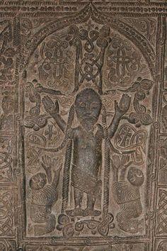 Armenia - Prowincja Gegharkunik - Klasztor Sewanawank - w okresie najazdów mongolskich by uratować Klasztor, na chaczkar dorobiono mongolskie akcenty(warkoczyki) i dzięki temu najeźcy go nie zniszczyli.