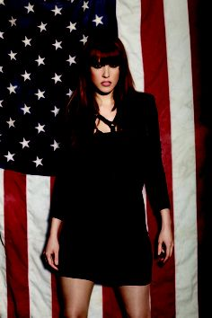 A NICE CHAT WE RECENTLY HAD WITH LZZY HALE FROM HALESTORM   FRONT – The funniest, sexiest magazine on Earth