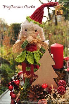 Amigurumi - Luna Christmas elfe - tutorial by FairyGurumi's Crochet