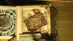 A TIM HOLTZ INSPIRED SEE THROUGH BOOK - TUTORIAL - BIGZ DIES,  ARTEMIO S...