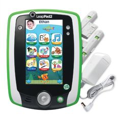 LeapFrog LeapPad2 Learning Tablets. The LeapPad 2 has over 9 hours of battery life and rugged high impact side bumpers, making it one of the best learning tablets for younger children.  Give your toddler the gift of hundreds of interactive and fun