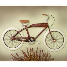 Wall Decor Metal Iron Country Rustic Retro Bicycle Wall Hanging ...