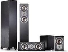 Looking to put together a home theater system? Read how we made one with #Yamaha and #Polk #HomeTheater components, and got a great-sounding system!