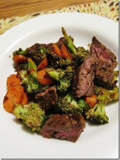 Gingery Broccoli Beef