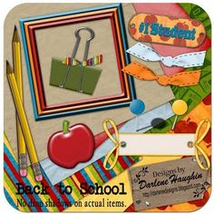 Darlene Designs: Back To School QP Freebie and Special Offer