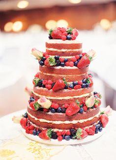 Stunning & Scrumptious Summer Wedding Cake Ideas