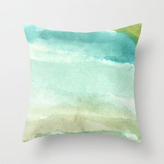 watercolor abstract painting_2 Throw Pillow by humble art by dana&reese - $20.00 Watercolor Paintings Abstract, Throw Pillows, Art, Art Background, Toss Pillows, Cushions, Kunst, Decorative Pillows, Performing Arts