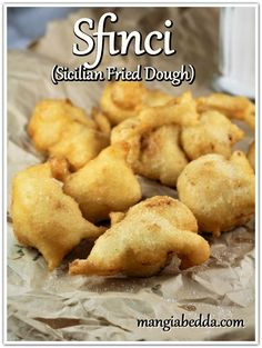 Delicious Donuts, Delicious Recipes, Vegan Recipes, Sicilian Recipes, Sicilian Food, Good Food, Yummy Food, Tasty, Christmas Eve