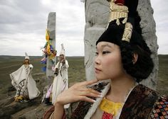Tuvans (ethnic group living in southern Siberia)