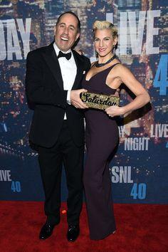 Pin for Later: Saturday Night Life rief und die Stars kamen in Scharen Jerry und Jessica Seinfeld