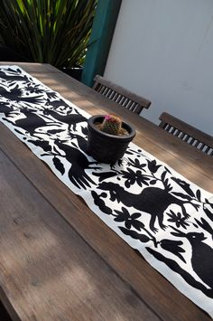 Otomi Table Runner | Design Crush at GREAT.LY