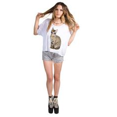 CoCo Kitty Tee now featured on Fab.
