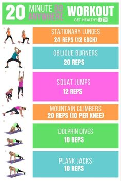 This do-anywhere workout works your legs, glutes, abs, and arms, giving you a…